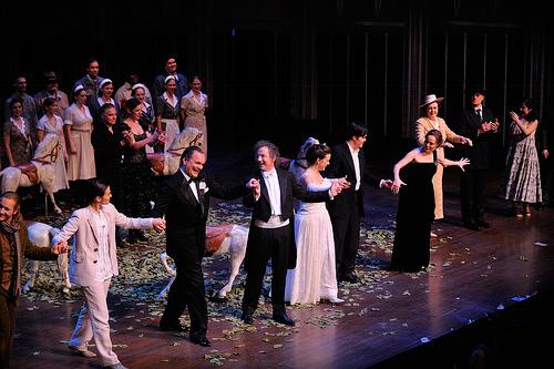 Curtain call Le Nozze di Figaro / Cleveland 2009