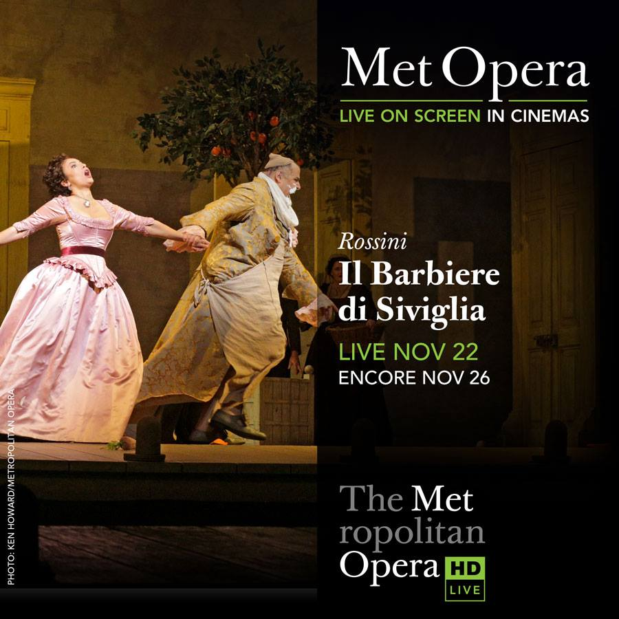 Il Barbiere di Siviglia at The Metropolitan Opera