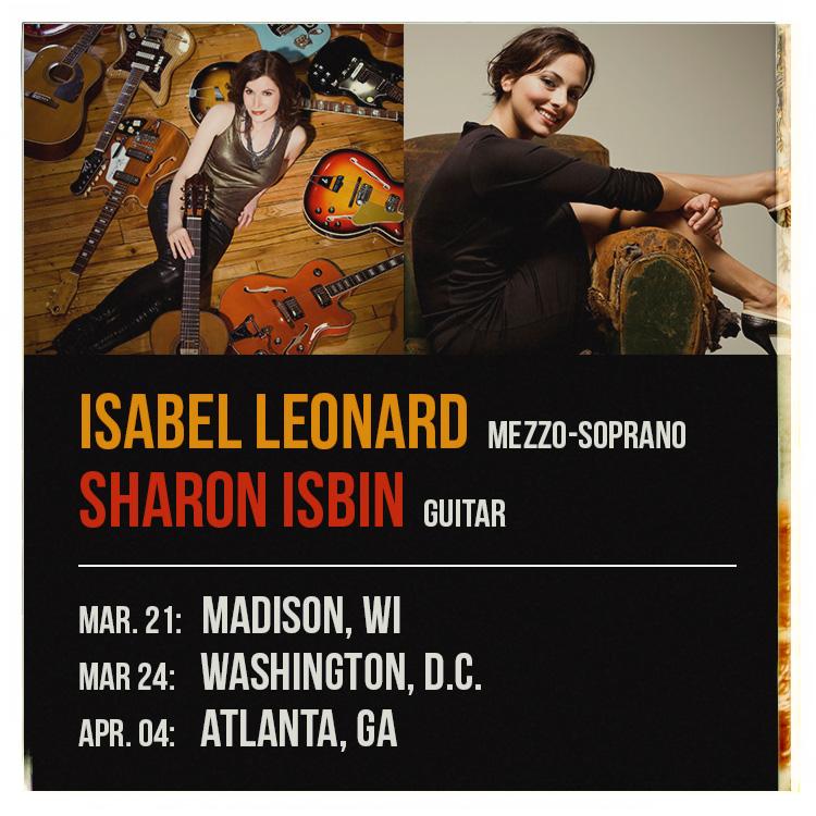 Isabel Leonard | Sharon Isbin