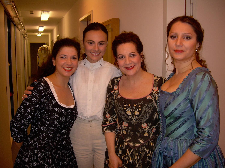 Laura Tatulescu, Helene Schneiderman & Barbara Frittoli