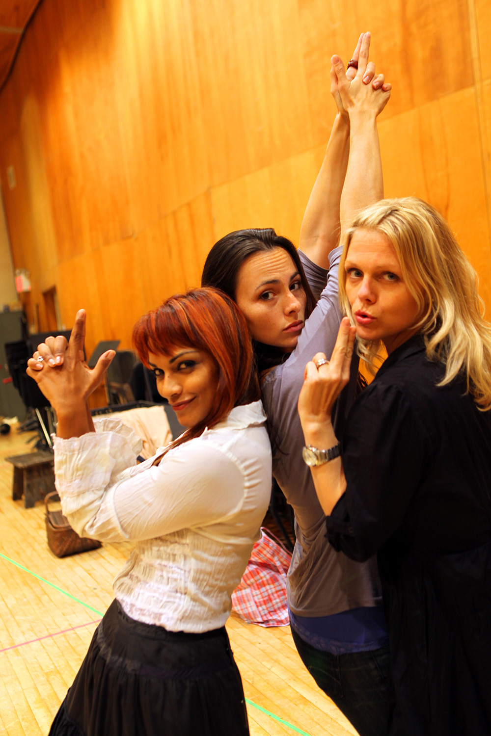 With Miah Persson and Danielle de Niese