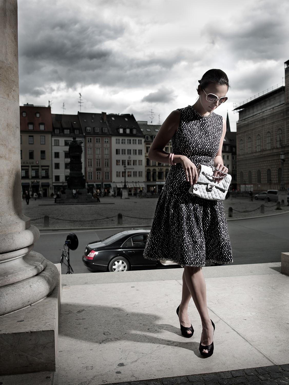 Photo Shoot for Salon Magazine (2009)